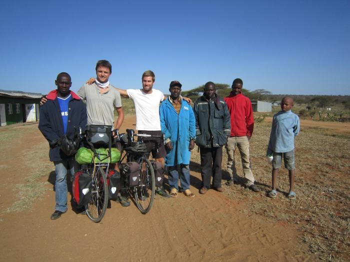 Locals in the village