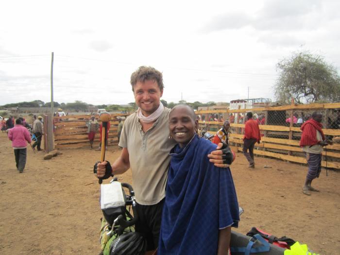 At a Masai kettle market