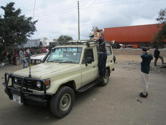 Our safari car!