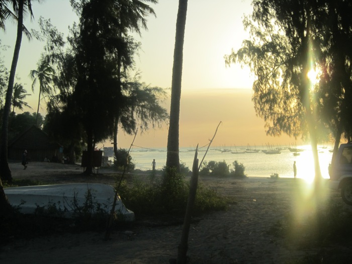 View from Nungwi at Zanzibar