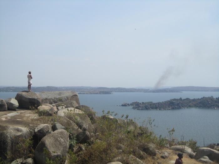 View over lake Victoria from Mwanza
