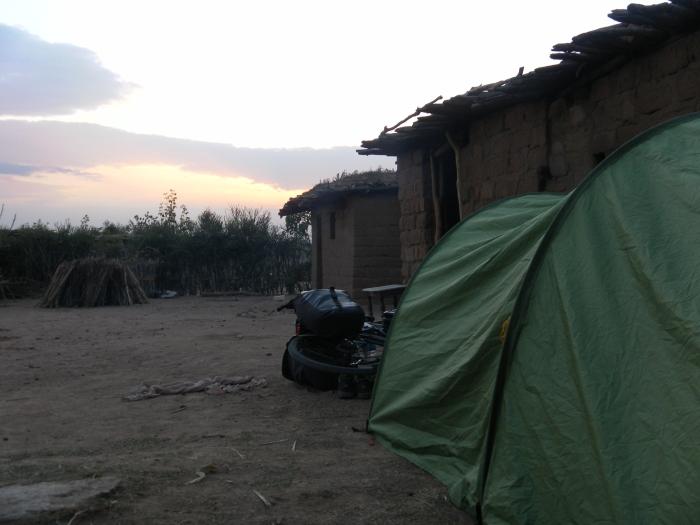 Camp inside the farm