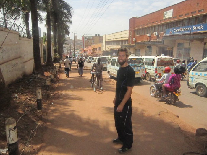 Walking in Kampala