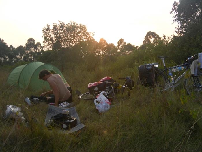 First night in Uganda